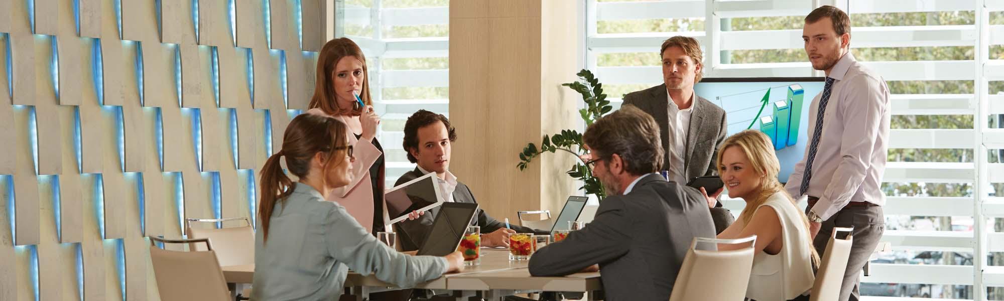 Consumer meeting room