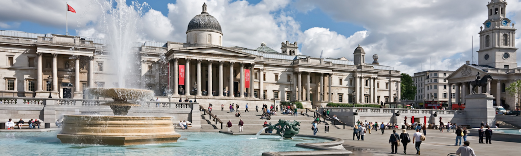 Rent a place in Trafalgar Square