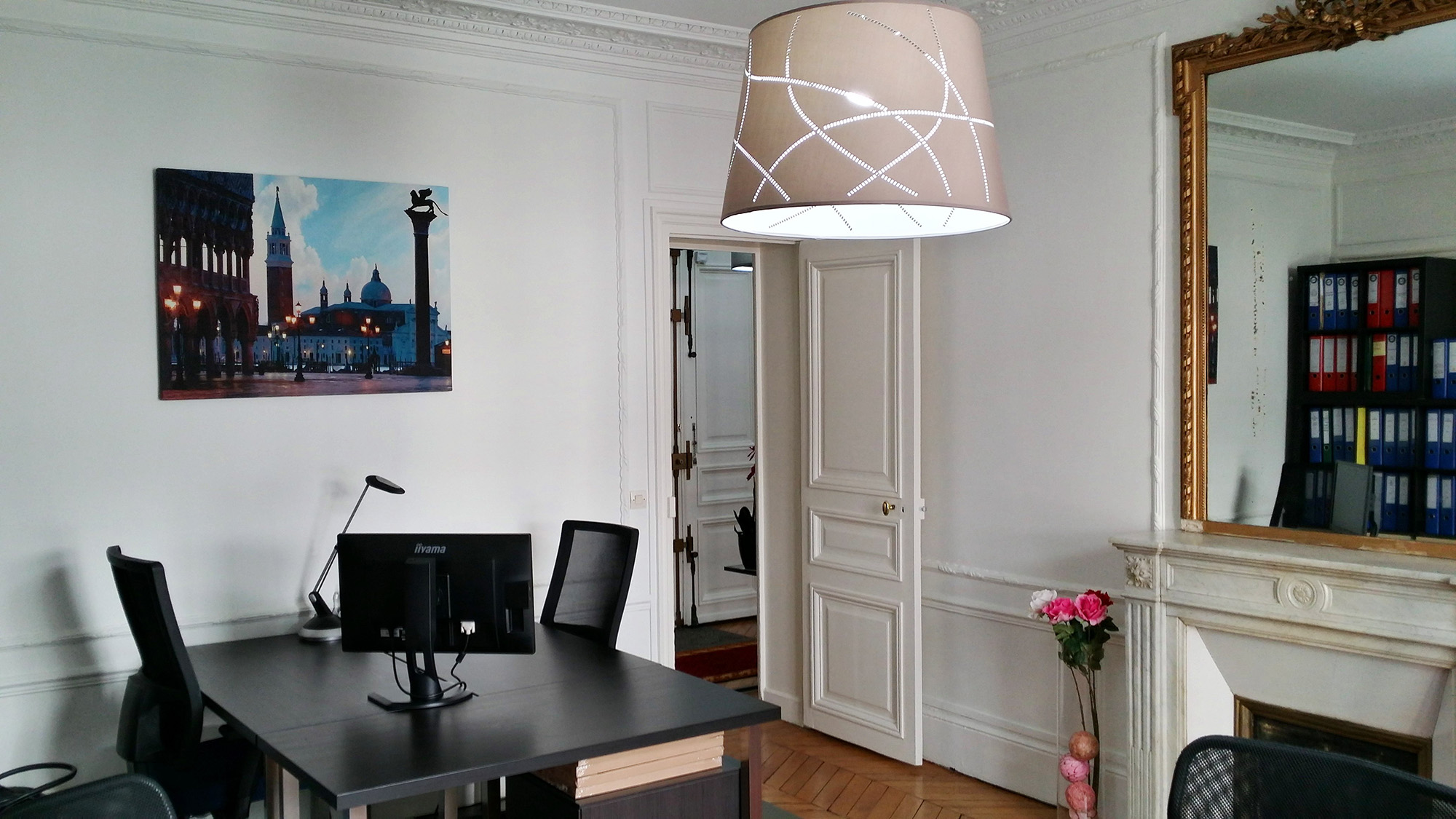 bureau de standing dans le quartier toile maillot paris. Black Bedroom Furniture Sets. Home Design Ideas