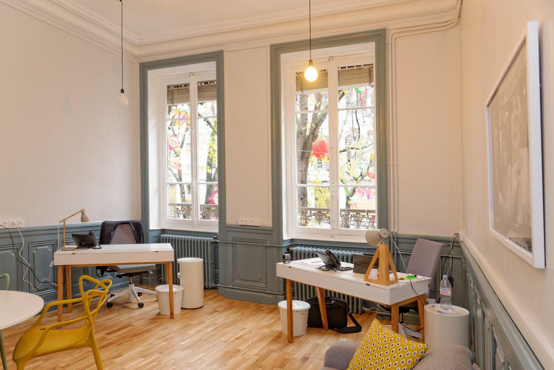 Design et convivial, votre espace de travail comme à la maison