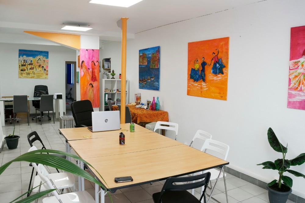 ev nement entreprise paris espace de travail de 48m lumineux au rez de chauss e. Black Bedroom Furniture Sets. Home Design Ideas