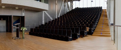 Book an auditorium for 298 people in Mechelen in an unusual setting