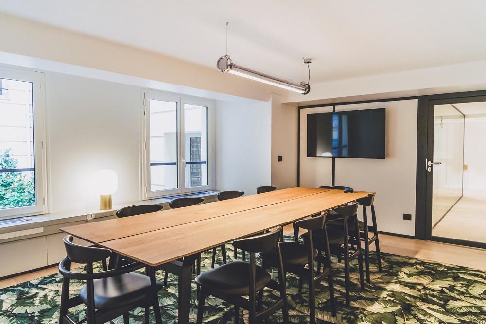 organiser une r union de travail paris champs elys es. Black Bedroom Furniture Sets. Home Design Ideas