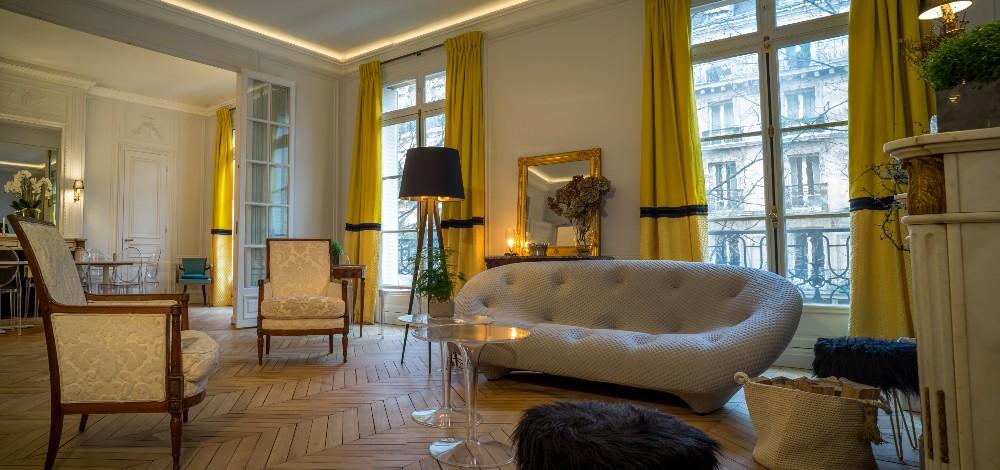 r union de travail dans un superbe appartement de 90m paris invalides. Black Bedroom Furniture Sets. Home Design Ideas