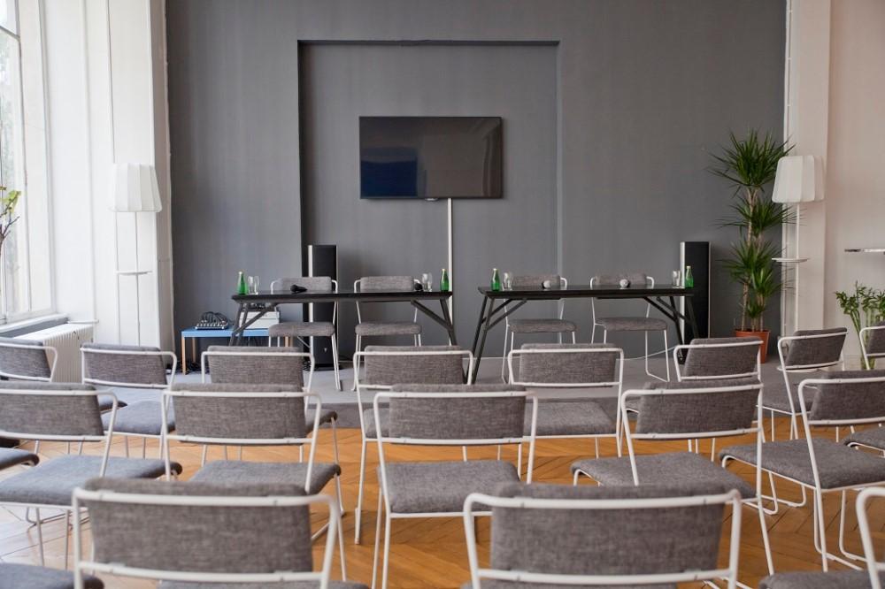 Salle De Conf Rence Atypique Dans Un Open Space Paris 10e