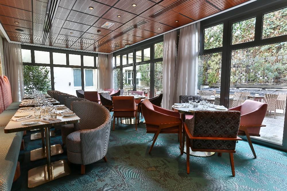 Salle de r ception design pour 90 personnes dans le 8 me for Hotel design paris 8eme