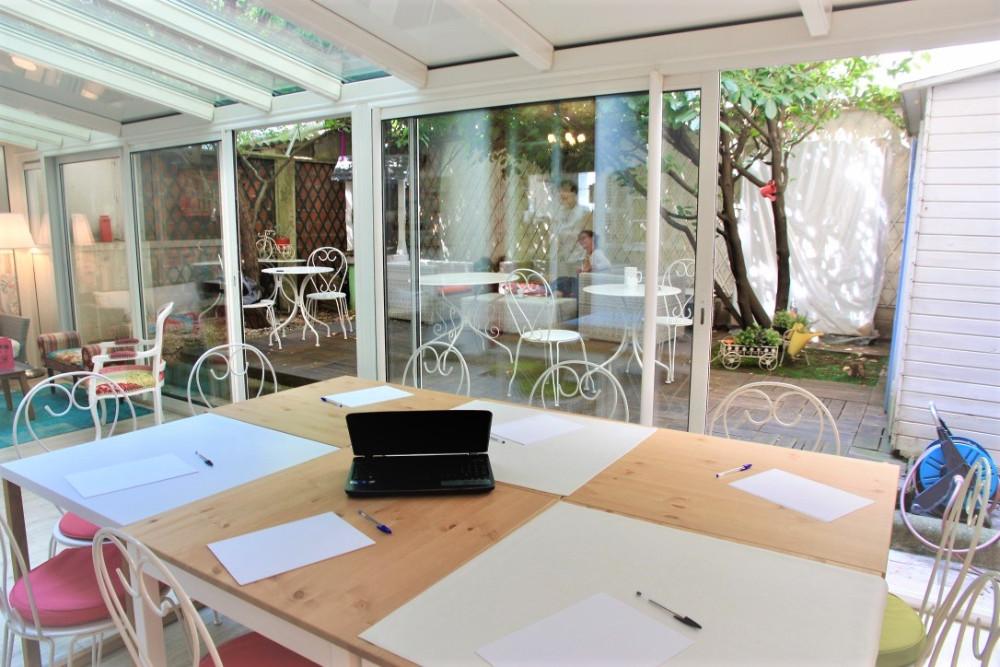 salle de r union boulogne billancourt jardin priv. Black Bedroom Furniture Sets. Home Design Ideas