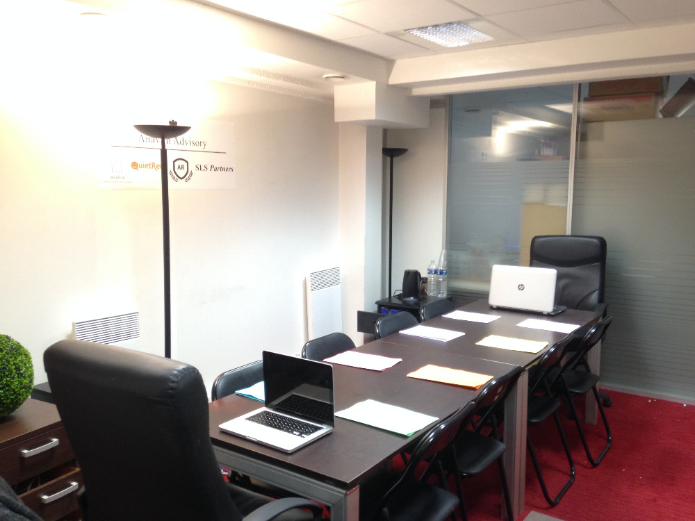 hire meeting room for 12 in to the gare de lyon