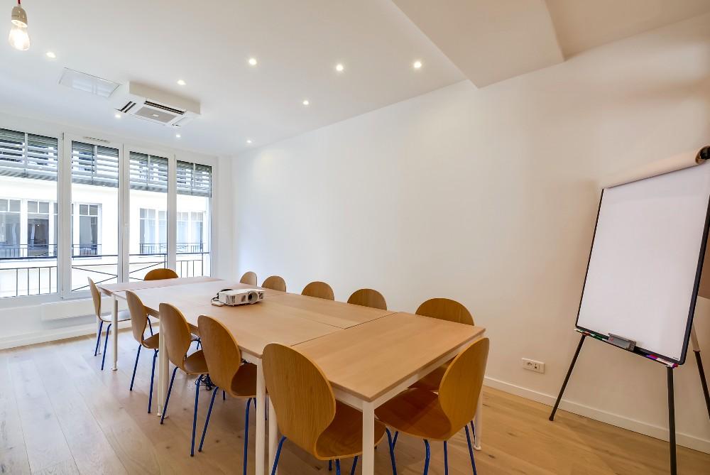 Salle de réunion Place de la Madeleine à Paris pour 12 personnes